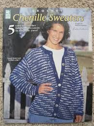 Crochet,Chenille,Sweaters,by,Melissa,Leapman,Crochet Chenille Sweaters by Melissa Leapman, cross stitch, candlewicking, needlework chistmas,kg krafts