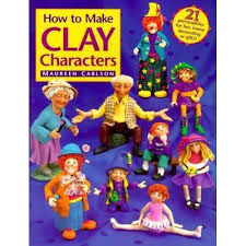 How,to,Make,Clay,Characters,by,Maureen,Carlson,How to Make Clay Characters by Maureen Carlson,dollhouse,miniatures,kg krafts,polymer clay,crafts,supplies