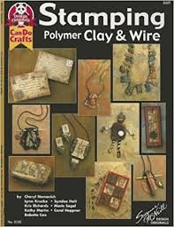 Stamping Polymer Clay and Wire - product images