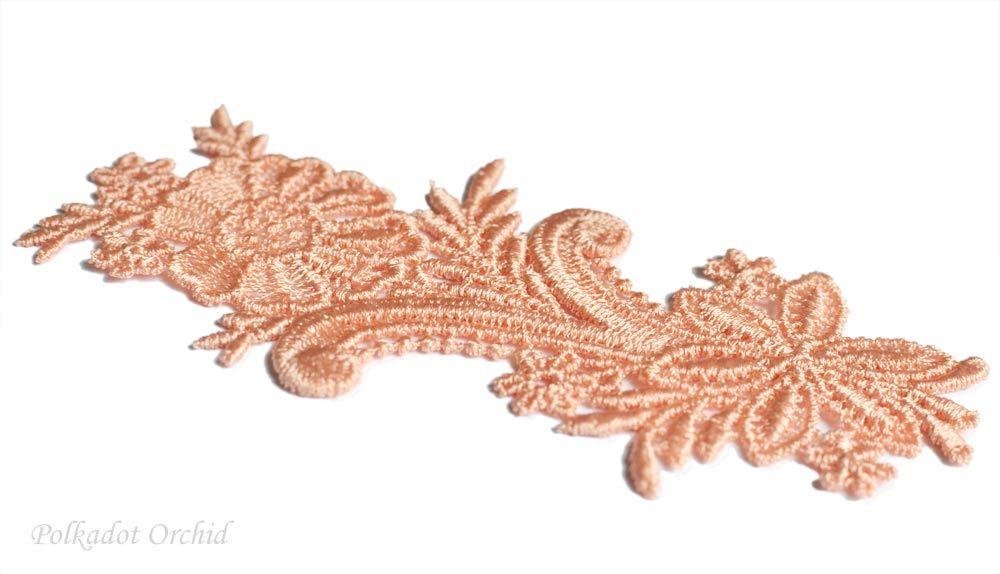 Martha Floral Lace Applique - 4.7