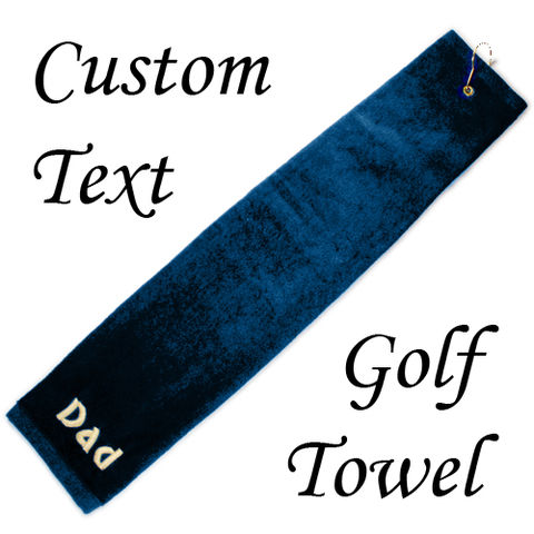 Custom,Embroidered,Golf,Towel, towel, custom, embroidered, text