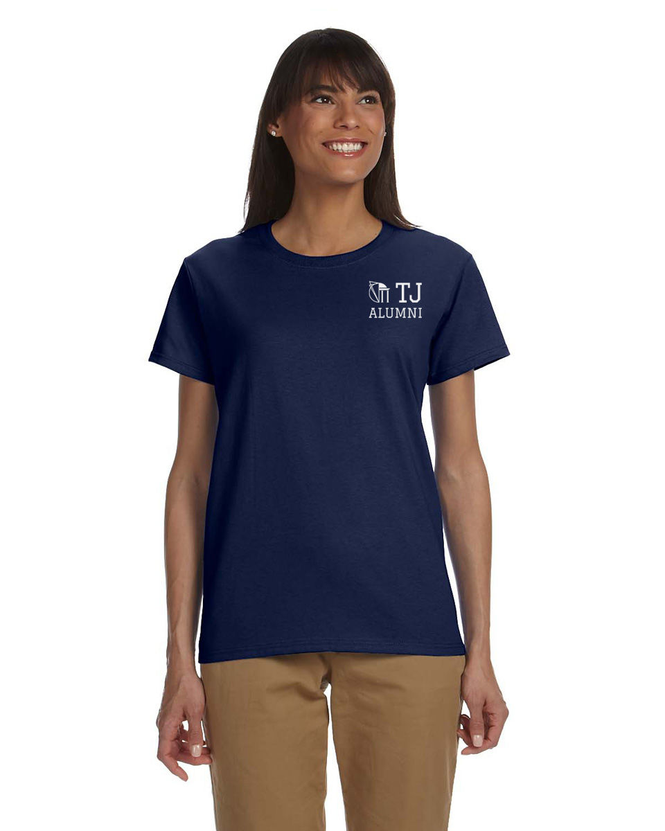 TJAA Tee - Navy & White - product images  of