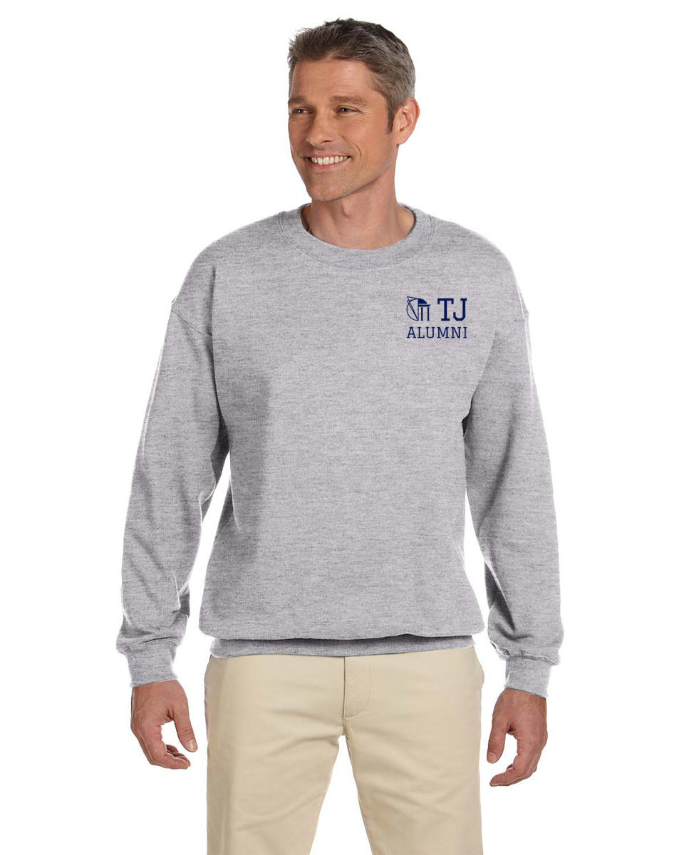 TJ Alumni Crewneck Sweatshirt - Sport Grey - product images  of