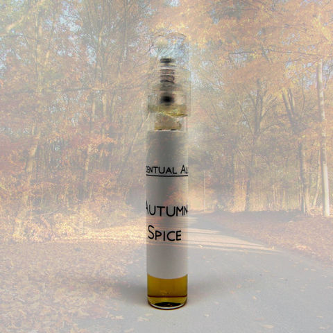 Autumn,Spice,natural,perfume,mini,spray,natural perfume, botanical perfume, esscentual alchemy, indie fragrance, artisan perfume, bath and body, beauty, eau de parfum, perfume spray, autumn scent, sandalwood, patchouli, myrrh, blood orange, cinnamon, nutmeg, lavender, bergamot