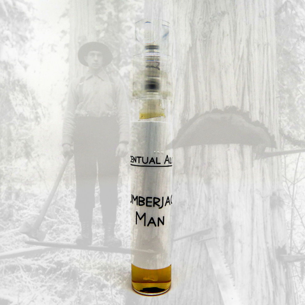 Lumberjack Man natural cologne mini spray - product images  of