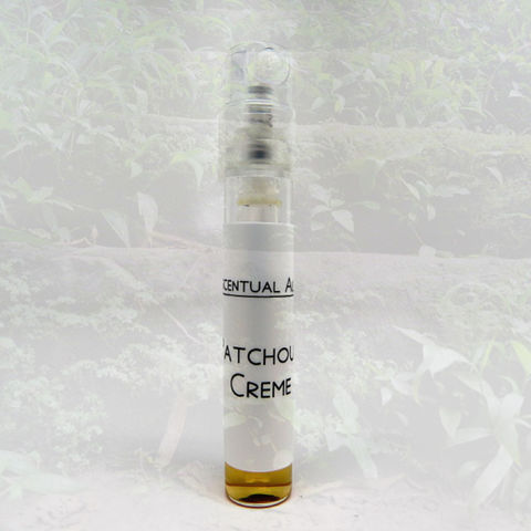 Patchouli,Creme,natural,perfume,mini,spray,natural perfume, botanical perfume, esscentual alchemy, indie fragrance, artisan perfume, bath and body, beauty, eau de parfum, perfume spray, sample, perfume sample, sample spray, patchouli, vanilla, hyrax, boronia, coffee, litsea cubea, nutmeg, mimosa,