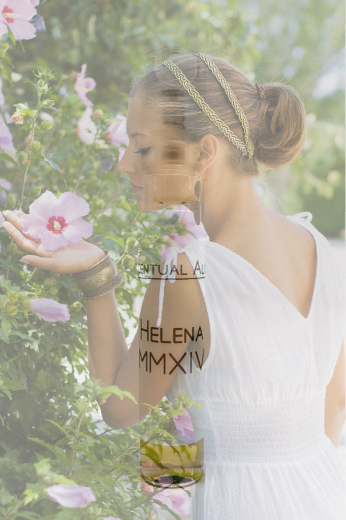 Helena MMXIV natural perfume mini spray - product images  of