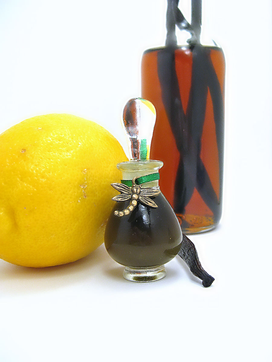 Vanilla Citron Natural Parfum - Citrus, Gourmand - product images  of