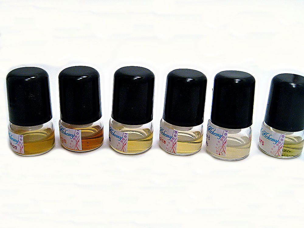 Natural Perfume 6 Luxurious Sample Pack - product images  of