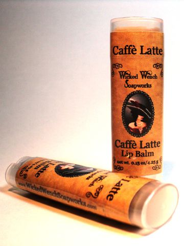 Caffe,Latte,Lip,Balm,lip, balm, coffee, cocoa butter