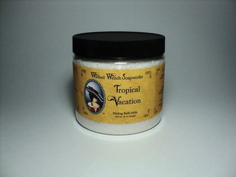Tropical,Vacation,Bath,Salts,salt, bath, soften, peppermint