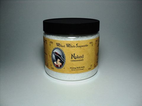 Naked,(Unscented),Bath,Salts,salt, bath, soften, fizzing