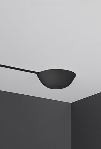 CableCup,Hide,-,Black, ceiling rose, black, plastic, soft, design, lighting, hide