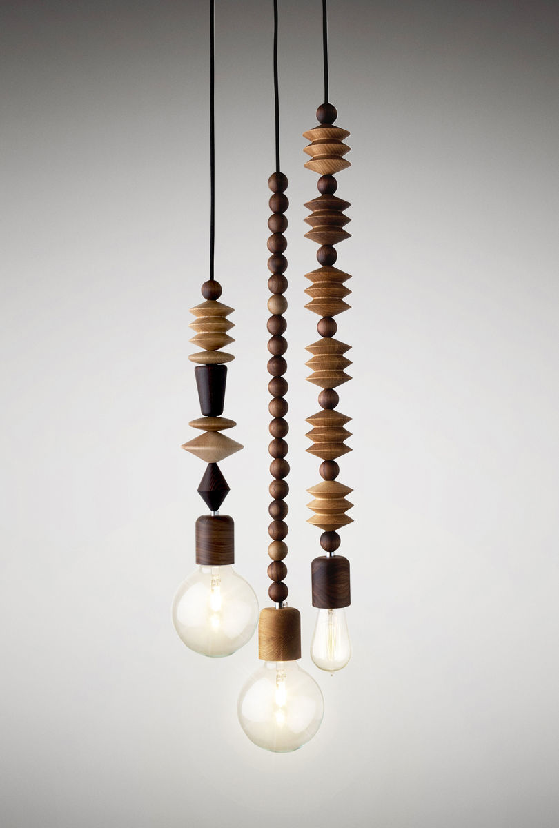 Bright Beads - 3 Cluster - Pendant lights - product images  of
