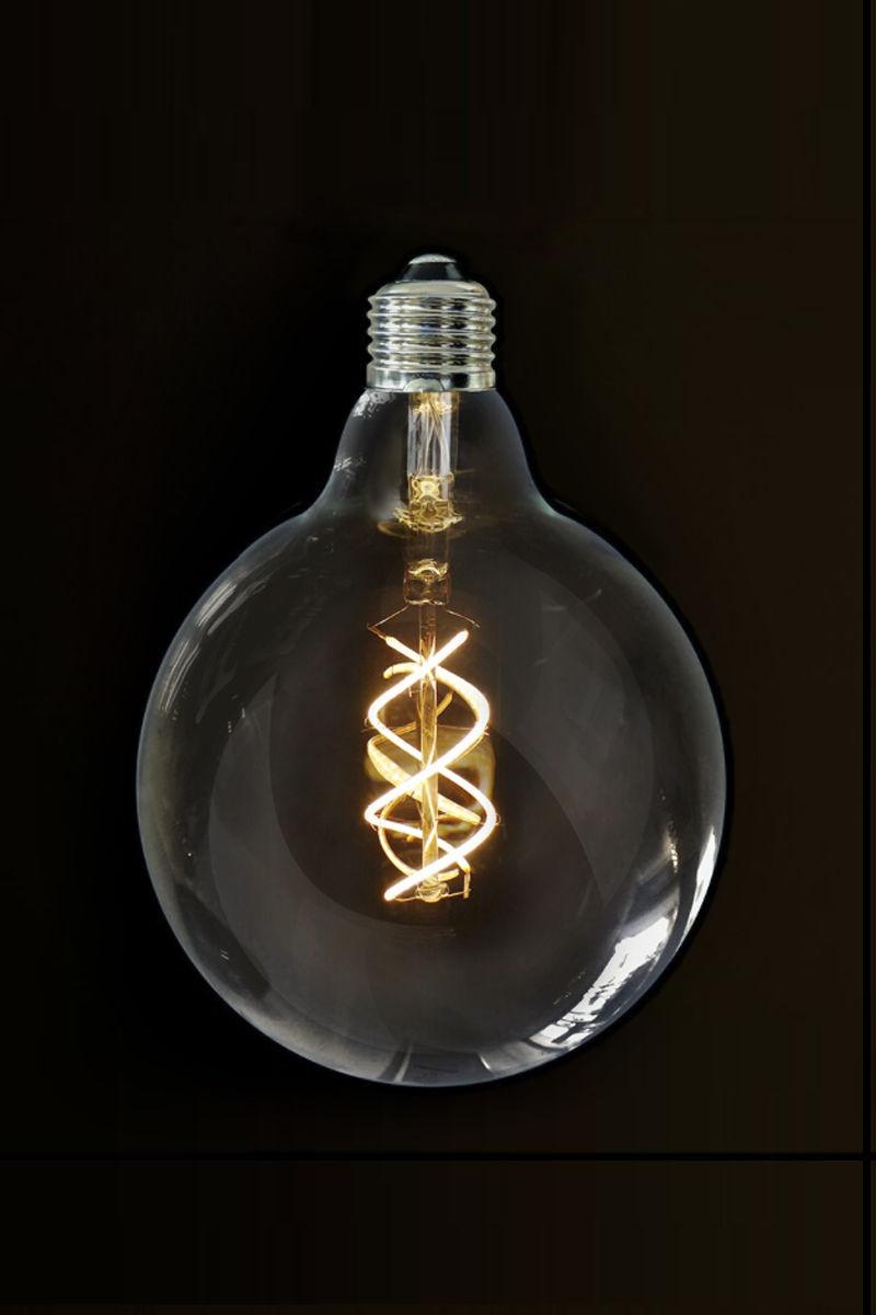 5 watt vintage g125 spiral led filament bulb