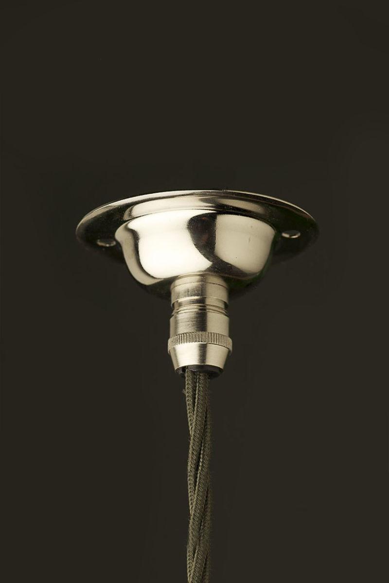 Nickel Cord Grip ceiling rose light fitting - Marz Designs:Nickel Cord Grip ceiling rose light fitting,Lighting