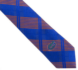 Florida,Tie,Skinny,Plaid,Florida Tie Skinny Plaid
