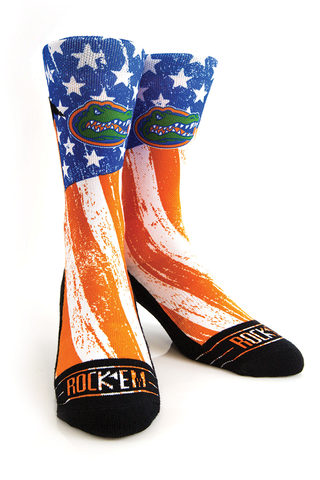 Gators,Stars,&,Stripes,Socks,Gators Stars & Stripes Socks