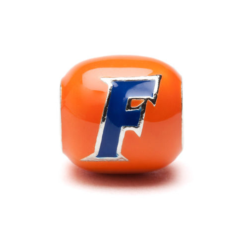 University of Florida Gators Orange and Blue Block Charm - product images  of