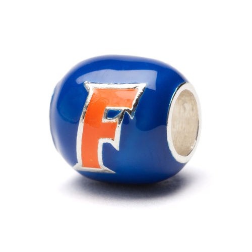 Florida Gators Blue and Orange Block Bead Charm - product images  of
