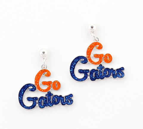 Florida,Slogan,Earrings,Florida Slogan Earrings
