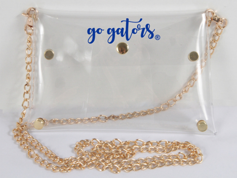 Clear,Gameday,Purse,Clear Gator Gameday Purse