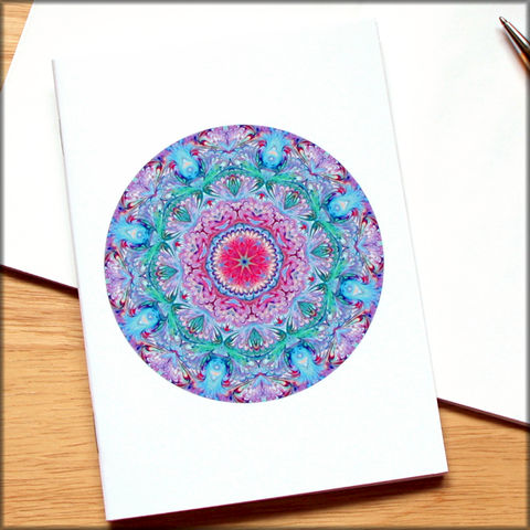 marbled,mandala,notebook,no.,9,small notebook,mini journal,marbled paper,eco friendly