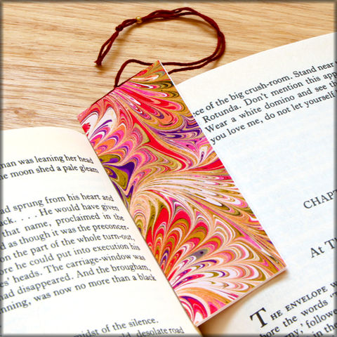 marbled,paper,bookmark,book,-,series,13,Bookmark,marbled_paper,recycled,miniature_notebook,blank_book
