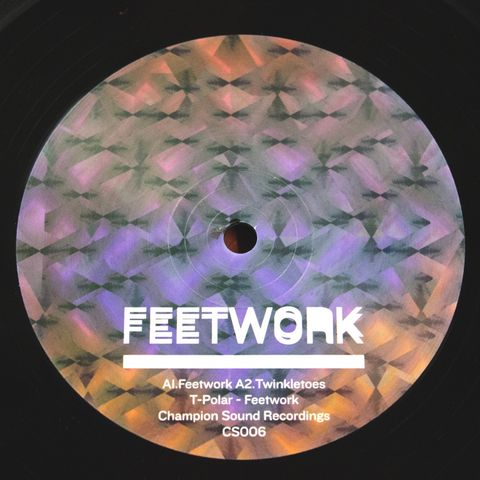 T,Polar,-,Feetwork,EP,12, inch, vinyl, house, garage, 2 step, piano, music, T Polar, Champion Sound