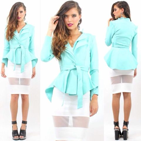 FEEL,THIS,MOMENT,BLAZER,-,MINT