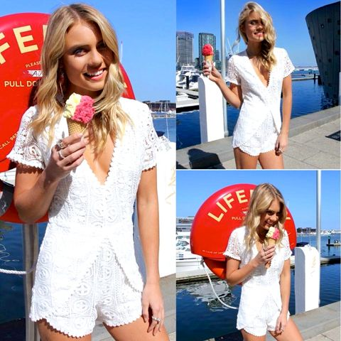 LACED,UP,ROMPER,-,WHITE