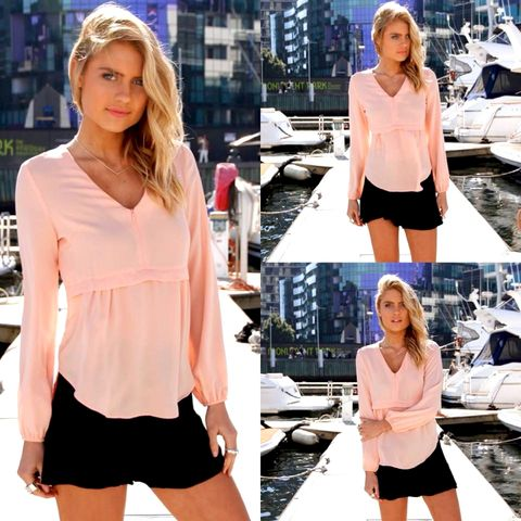 ONE,FINE,DAY,SHIRT,-,CORAL