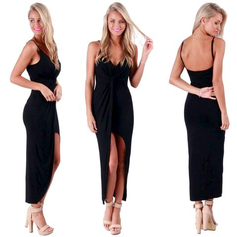 HEART,BREAKER,MAXI,-,BLACK