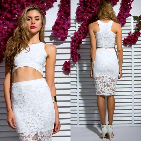 FIRE,ON,LACE,CROP,-,WHITE