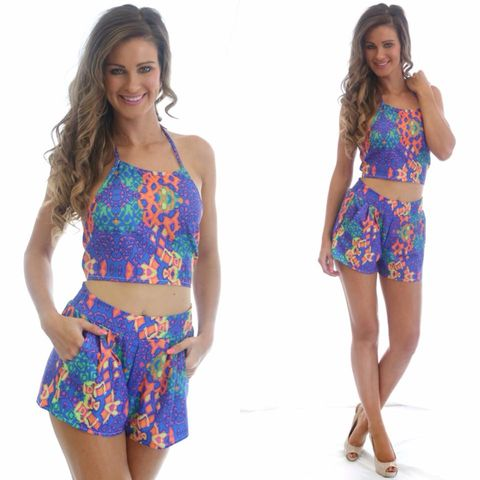 SPELLBOUND,SHORTS,two piece set