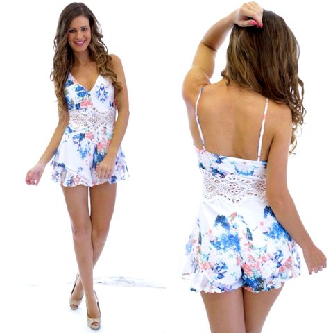 HEARTSTRINGS,PLAYSUIT