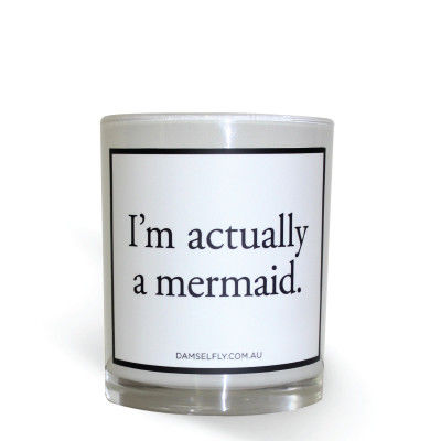 DAMSELFLY,CANDLE,-,I'M,ACTUALLY,A,MERMAID