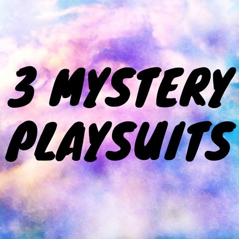 3,X,MYSTERY,PLAYSUIT,DEAL
