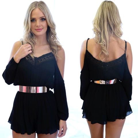 BYRON,BAY,PLAYSUIT,-,BLACK