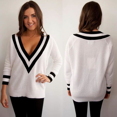 HARVARD,SWEATER,-,WHITE