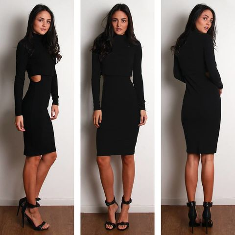 BACK,TO,BLACK,KNIT,DRESS