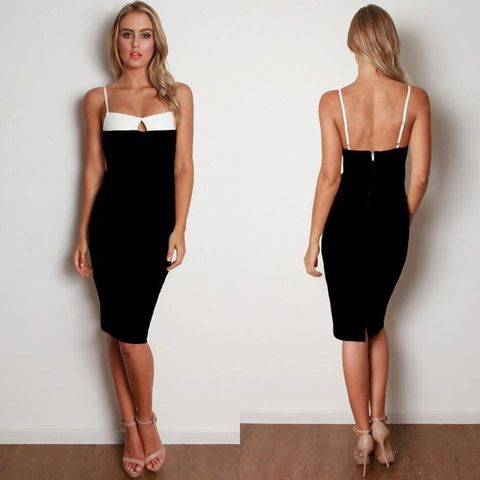 DREAM,OF,THIS,MIDI,DRESS,-,BLACK