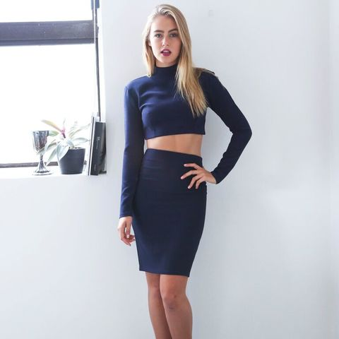 FEARLESS,SKIRT,-,Navy