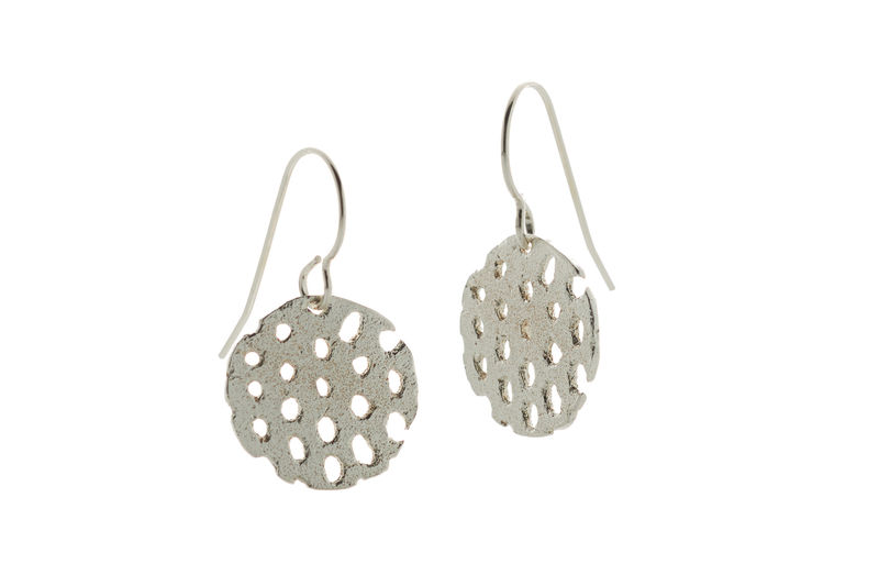 Silver Remnant Drop Earrings - product images  of