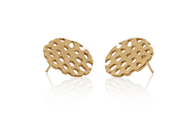 Gold Remnant Studs - product images  of