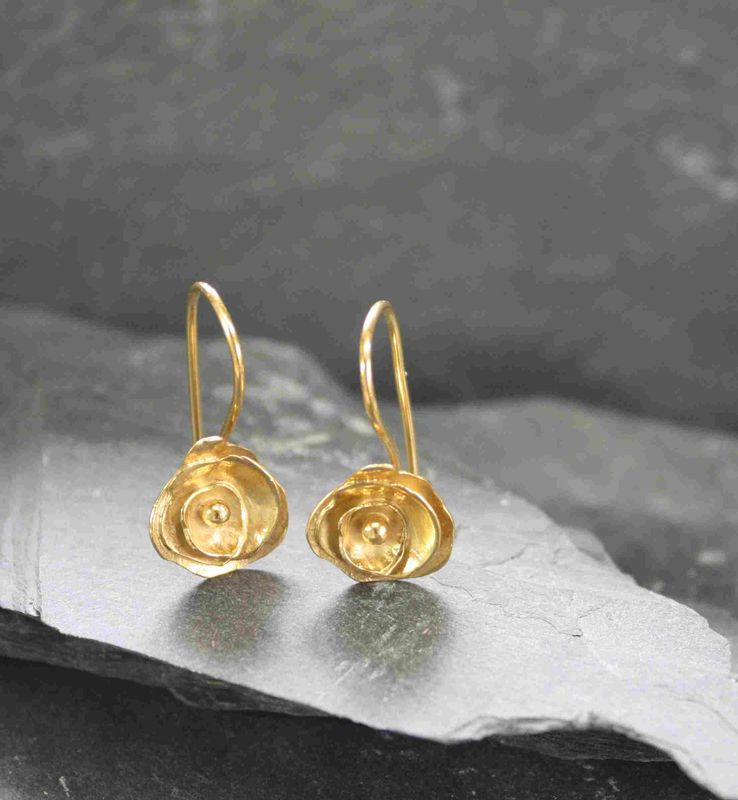 Trinity Rose earrings set - product images  of