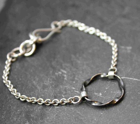 Drop,bracelet,oxidized,Silver jewelry, silversmithing, sterling jewelry,sterling silver, handmade