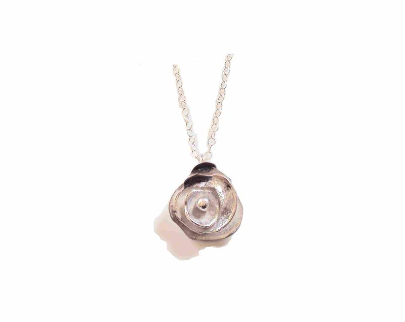 Trinity Rose necklace 24k gold vermeil - product images  of