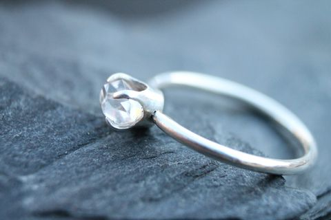 Herkimer,diamond,solitaire, diamond, engagement, wedding, anniversary, crystal, New York, Villain Accessories