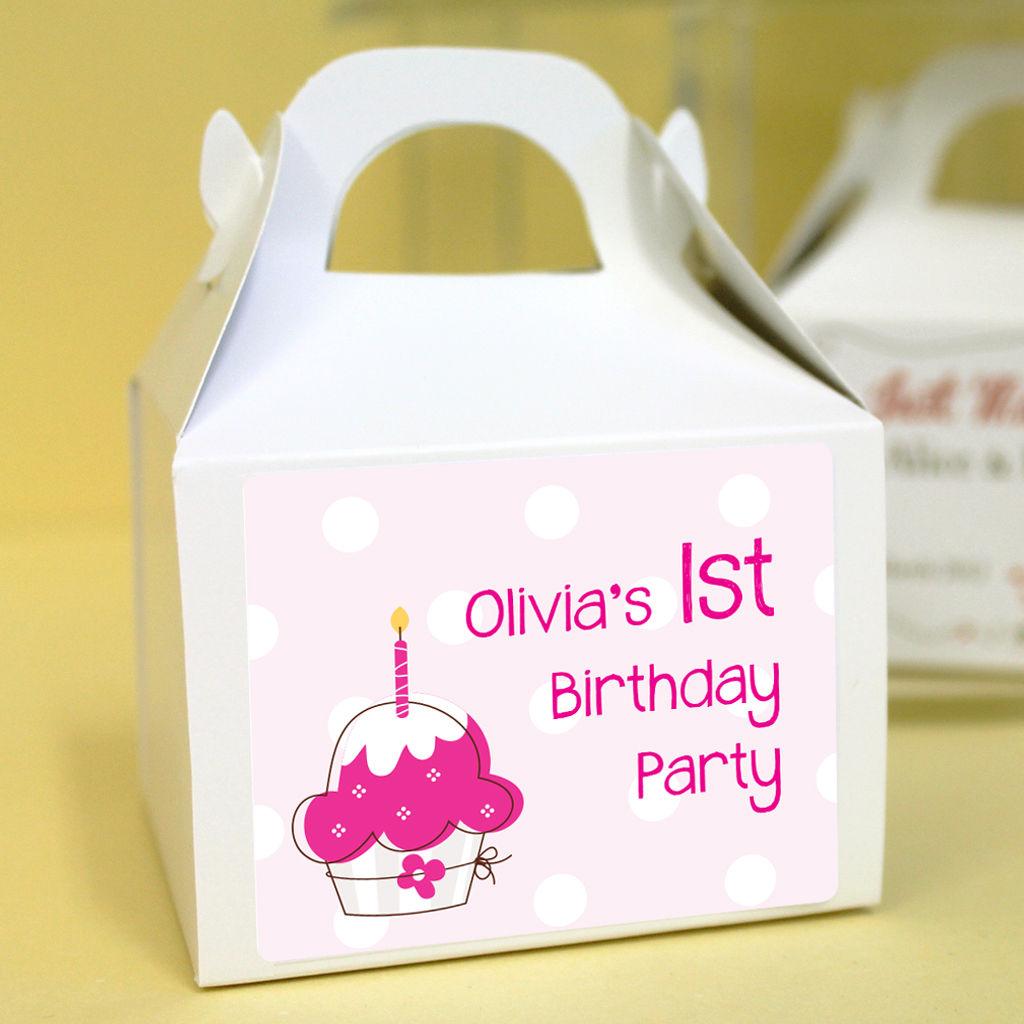 Personalised Anniversary Cake Images : Personalised Birthday Cupcake Boxes - Birthday Cake - Uber ...